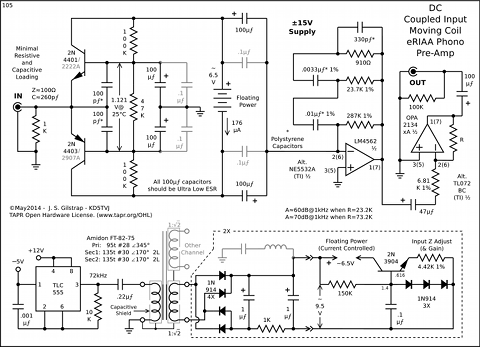High Performance Phono PreAmps
